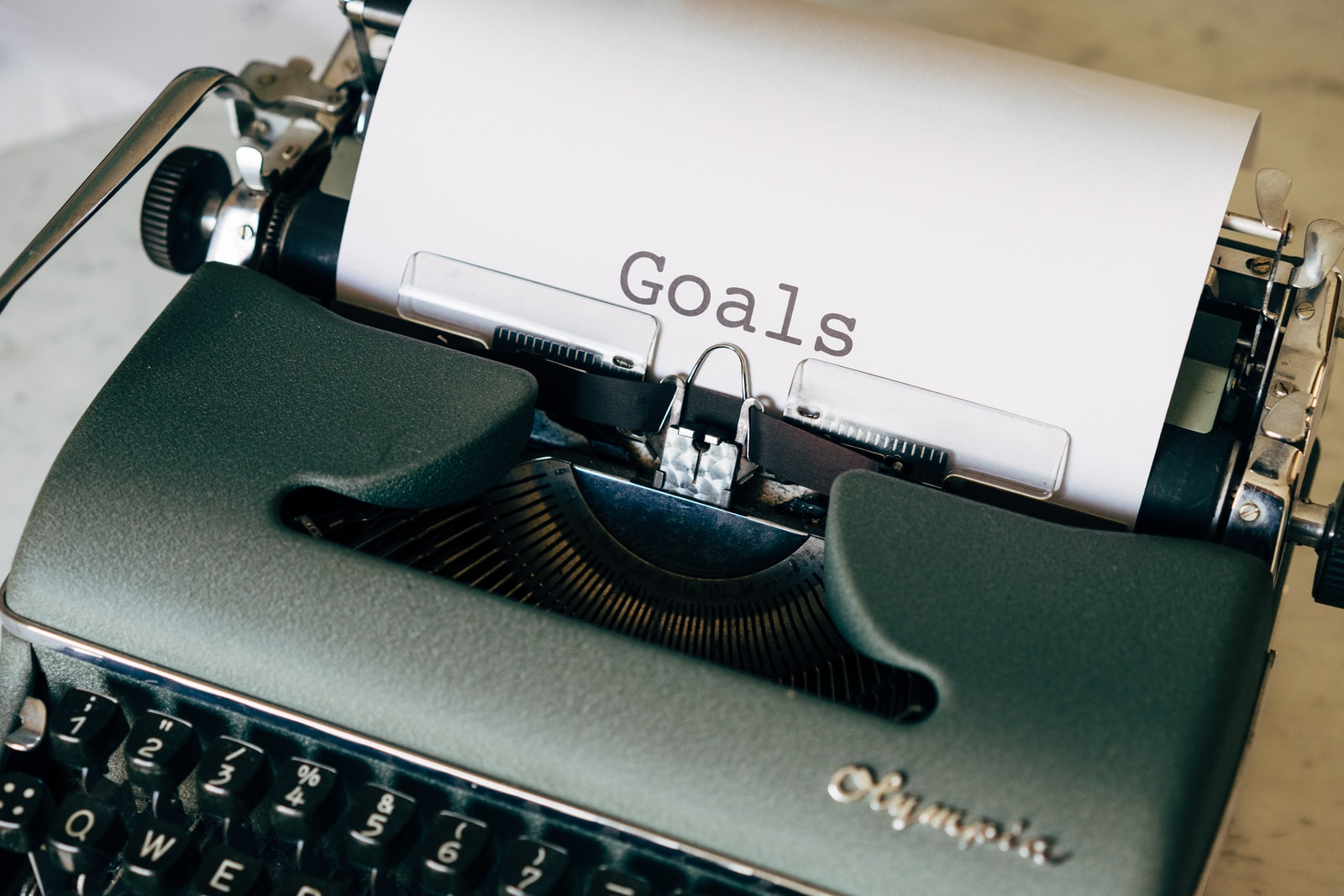 planning and scheduling in goal-setting